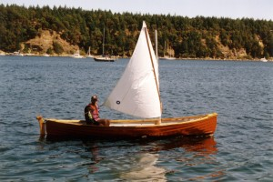Peapod Rower Sailer